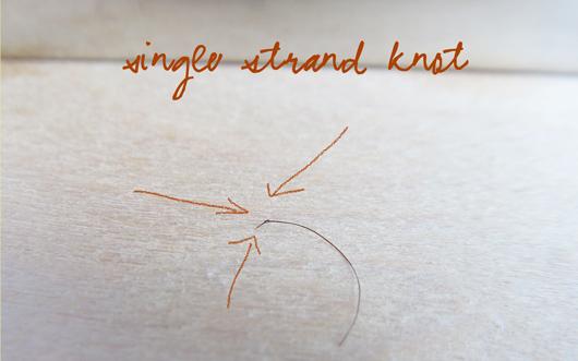 Des noeuds aux bouts des cheveux - Les SSK Singlestrandknot