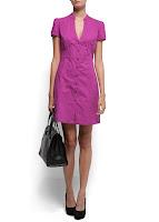 mango mor elbise modeli - lila elbise modeli