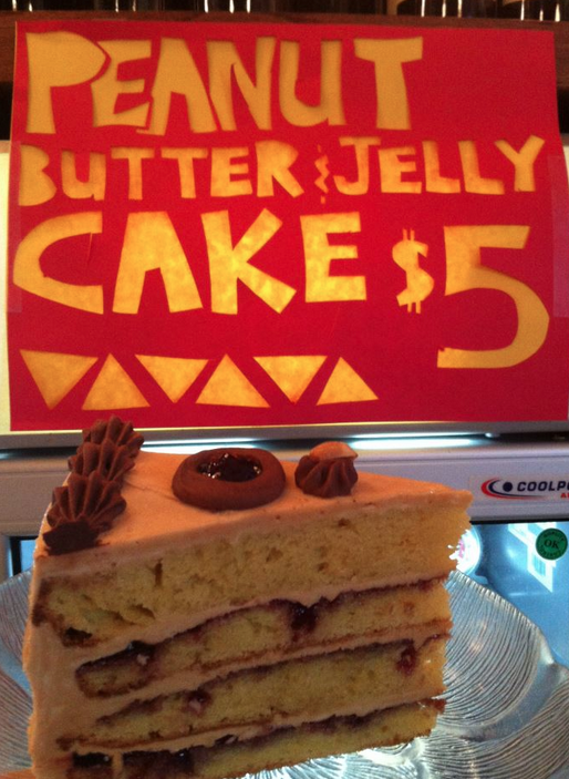 Winter park fish company peanut butter and jelly cake for Winter park fish company