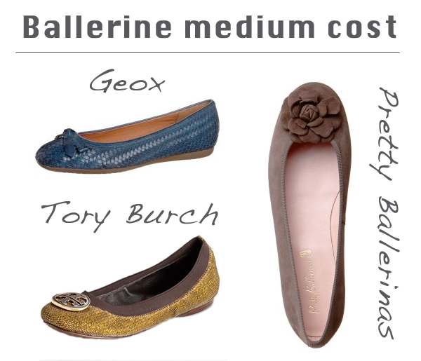 Ballerinas shoes on www.designandfashionrecipes.com