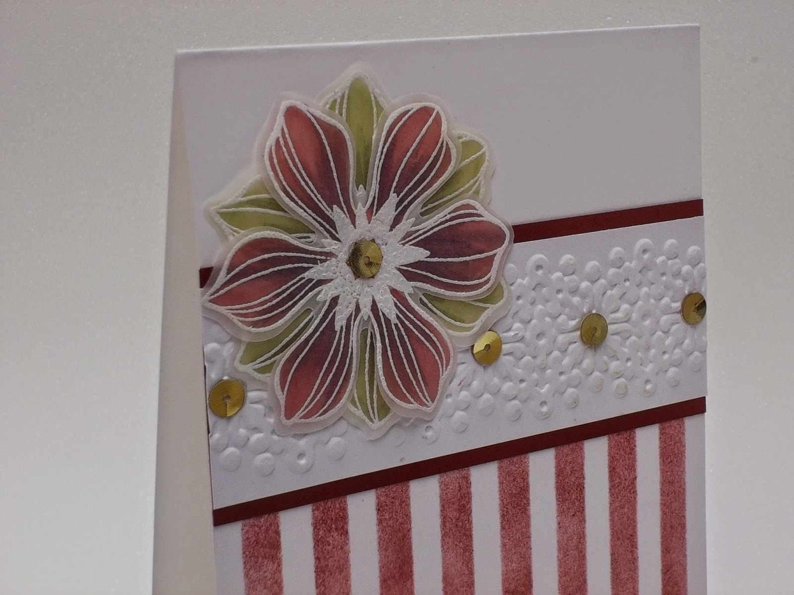 Beautiful Bunch and Stripes Stencil
