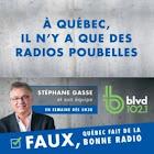 Avec Stéphane Gasse BLVD 102,1