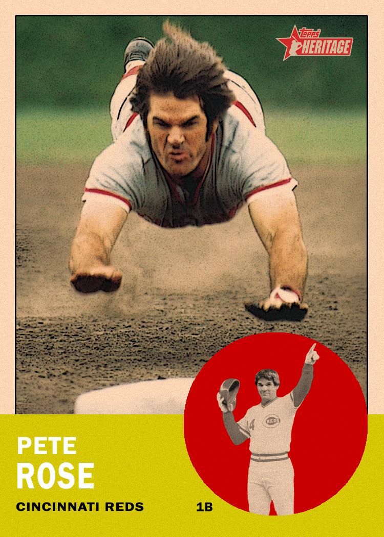 Pete Rose Poster Pete Rose Spoke on a