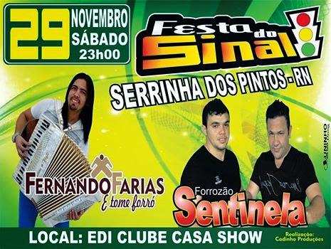 FESTA DO SINAL !