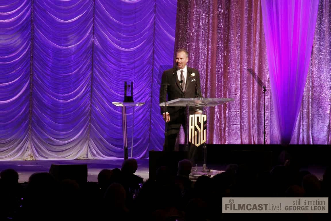Bill Roe  Career Achievement in Television Award © george leon/filmcastlive