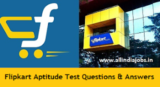 Flipkart Aptitude Test