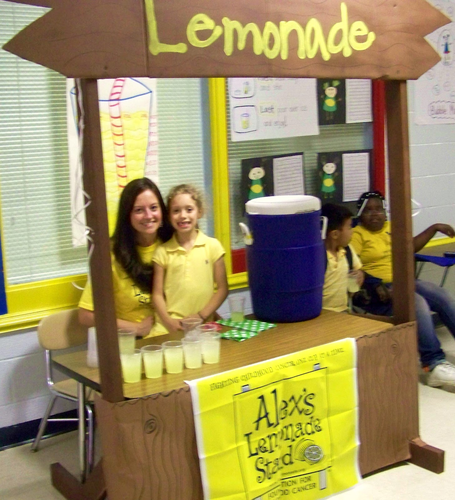 lemonade stand game report View full weather report  megan's lemonade stand a big hit at  opened an hour before the start of the game fans received lemonade from megan on a.