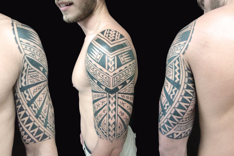 Samoan influence tattoo