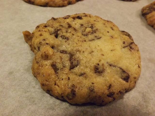 cookies cioccolato e noci