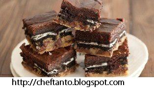 Resep Brownies Lapis Biskuit Lezat