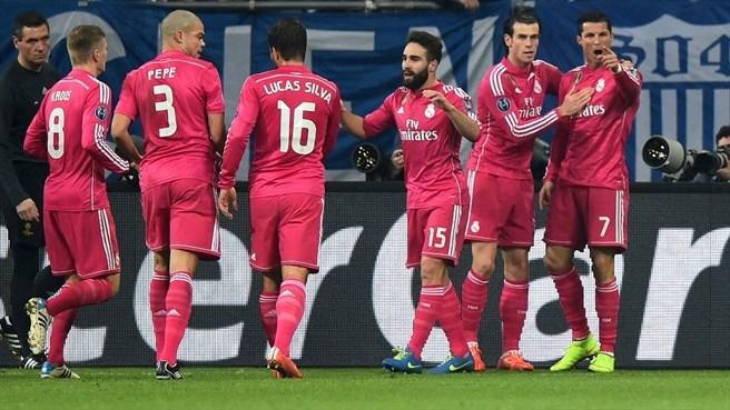 Schalke 04 vs. Real Madrid, partido de ida de los octavos de la final de la UEFA Champions League 2015. Real Madrid gana 0-2 a los alemanes. | Ximinia