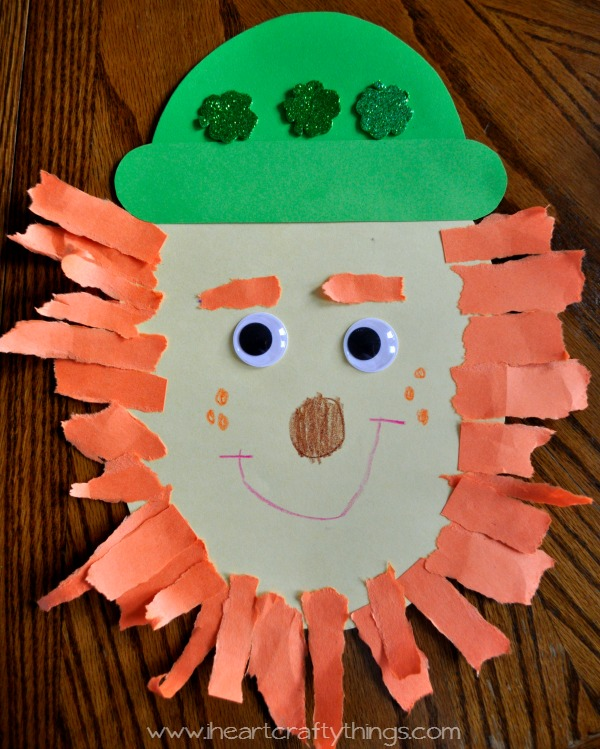 Leprechaun Coloring Pages For Preschool