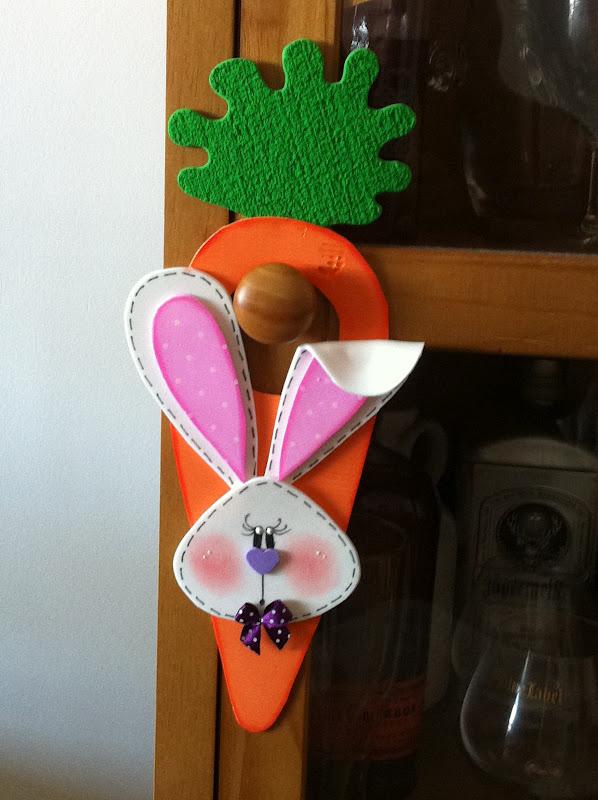 Artesanal Em Ingles ~ toys Reciclagem divertida e artesanato Cenoura Sinalizador de Porta