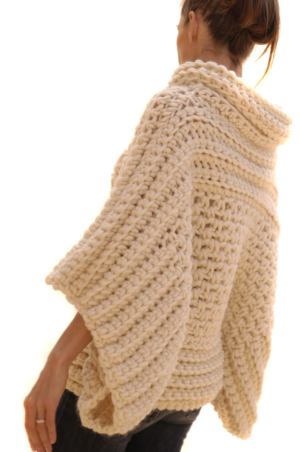 Free Crochet Patterns Pullover Sweater : Knit 1 LA: the Crochet Brioche Sweater