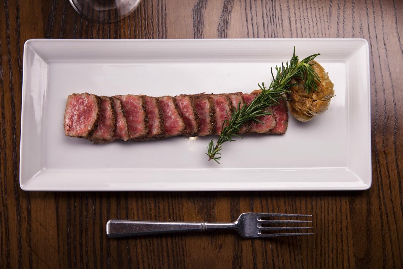 Japanese Kobe Beef at Ember Wine Bar & Grille in Lake Charles