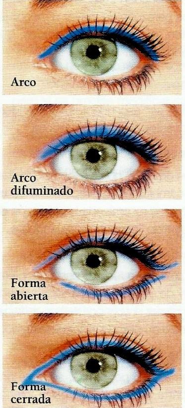 Entre est tica y cosm tica c mo maquillarse los ojos for Distintas formas de maquillarse los ojos