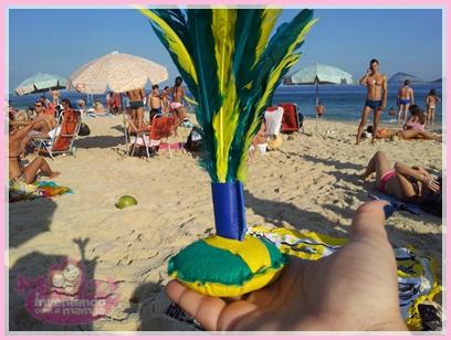 Peteca na Praia de Ipanema no Rio de Janeiro