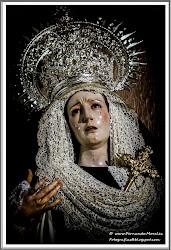 Nuestra Señora de Los Remedios vestida de Luto
