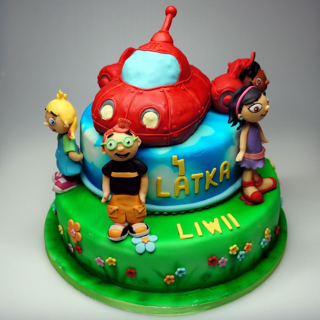 Little Einsteins Birthday Cake Childrens Birthday Cakes In London