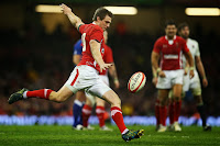 Dan Biggar, Wales, Outside Half, 10, Rugby, Kick