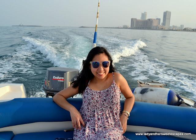 boat trip in Fujairah