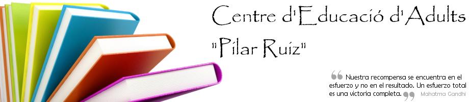 """EPA Albuixech. Centre d'Educació d'Adults """"Pilar Ruiz"""""""