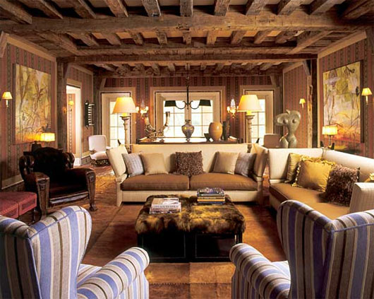 Sala De Estar Rustico Moderno ~  de complementar a decoração de diversos ambientes, dos mais