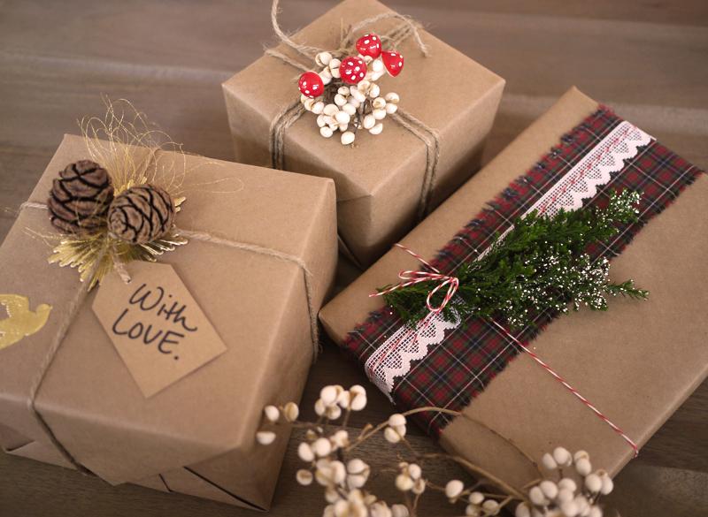 Новогодние упаковки для подарков своими руками фото