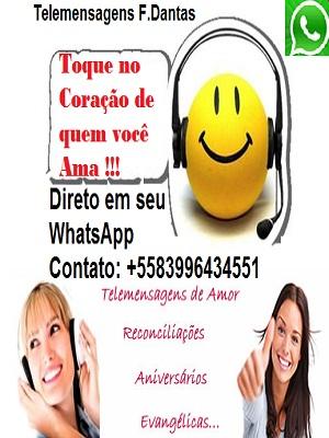 TeleMensagens em seu WhatsApp