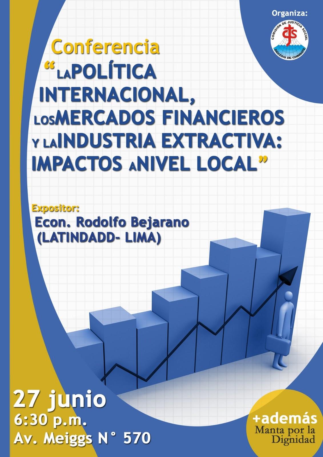 Comisi n de justicia social cjs realizar conferencia for La politica internacional