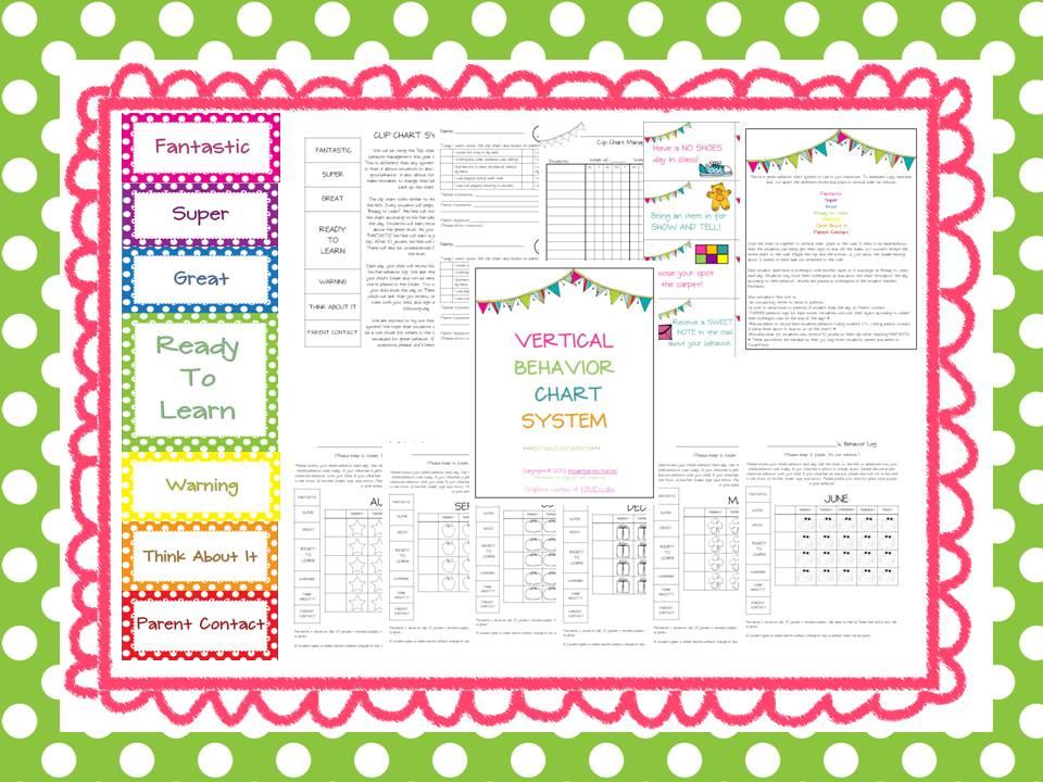 New Behavior Management System | Kindergarten Korner