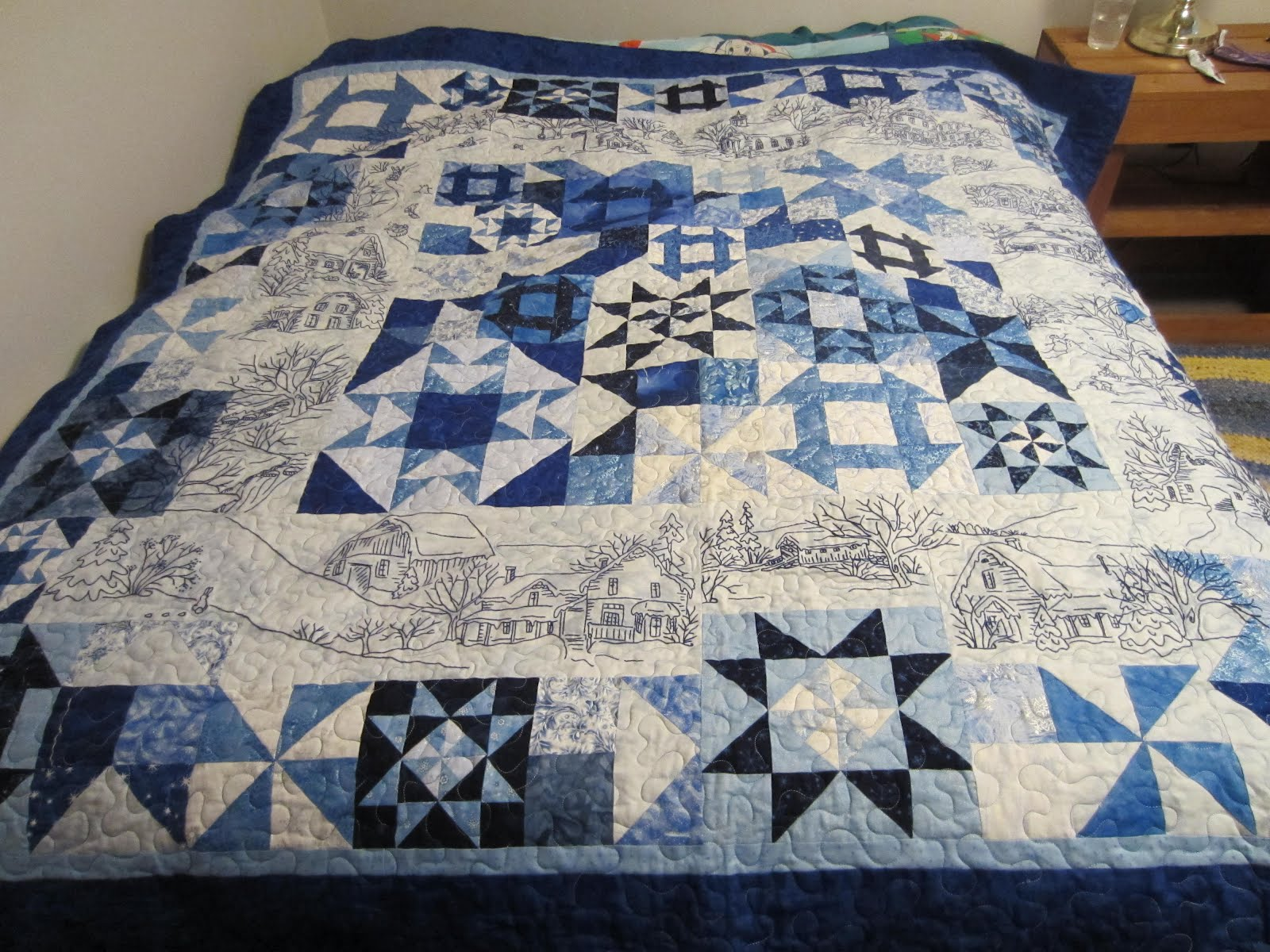 Quilts Quilts and More Quilts !!: Winer Snow Days : snow quilts - Adamdwight.com