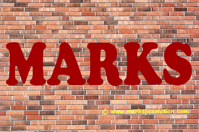 Text Over Brick Texture