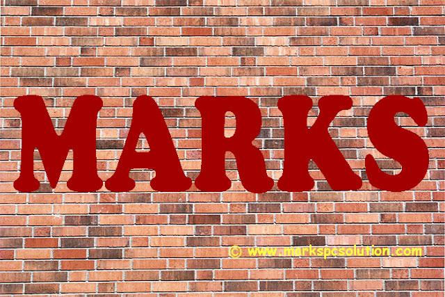 Text Over Brick Texture