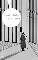 Cover of A Study in Scarlet by Sir Arthur Conan Doyle