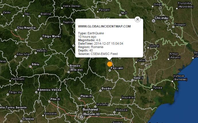földrengés, Richter-skála, Románia, Székelyföld, Vrancea-térség,
