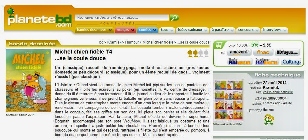 http://www.planetebd.com/bd/kramiek/michel-chien-fidele/se-la-coule-douce/24374.html