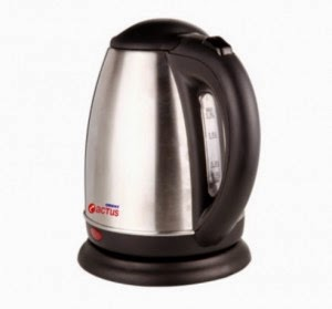Shopclues: Buy Orient KT1801S Electric Kettle and 31 ClueBucks at Rs. 1539