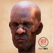 Old Man. Estudo de modelagem, feito pelo Marcos Camargo