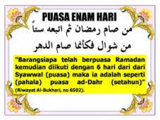 Hadis2 Puasa Syawal