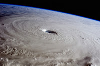 Typhoon Maysak, as seen from the International Space Station on March 31, 2015. (Credit: NASA) Click to Enlarge.