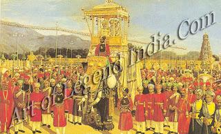 Vijayanagara  Procession