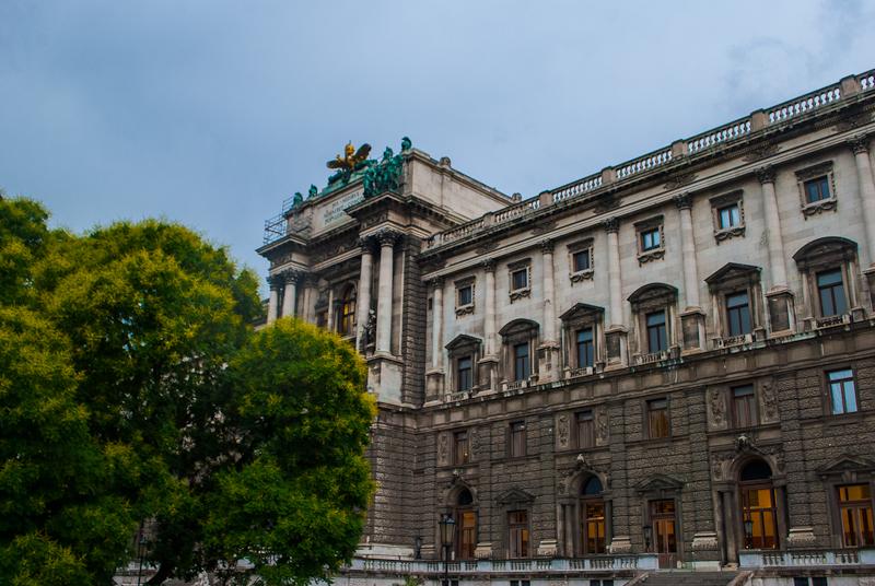 Hoburg in Vienna, Austria Architecture image