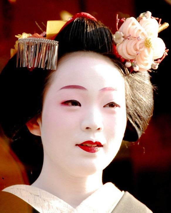 Instant Fille Make Inspiration Geisha