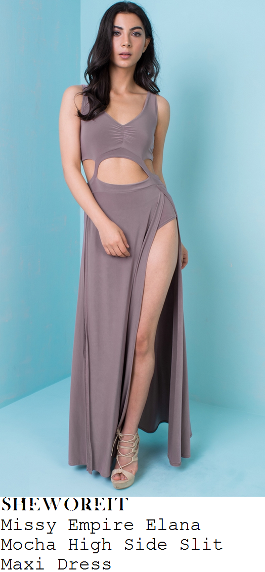 jess-impiazzi-mocha-sleeveless-cut-out-detail-maxi-dress