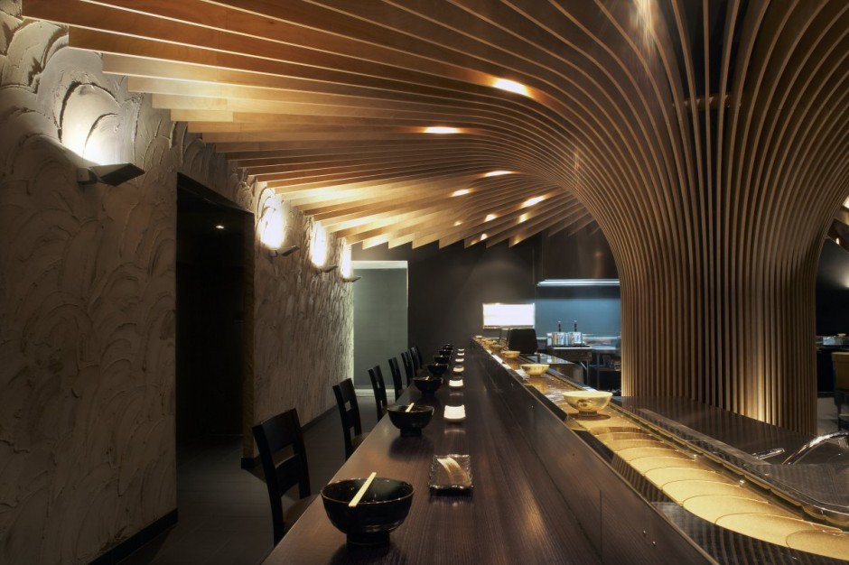 Interior house residence and apartment design restaurant