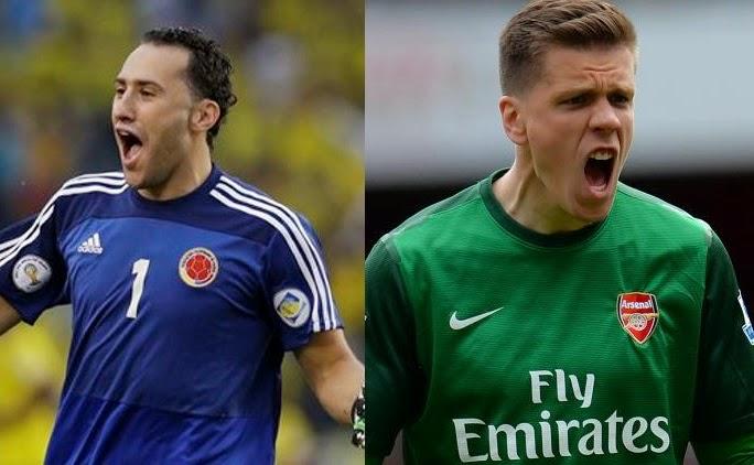 Ospina vs Szczesny comparasion