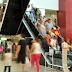 Jovens organizam 'rolezinho gospel' em Joinville