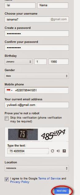 Cara Membuat Google Mail(Gmail) Terbaru 2014 2