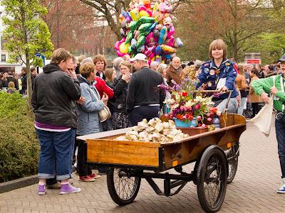 Bloemencorso Bollenstreek, el desfile de las flores